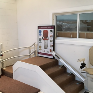 Stairlift showroom